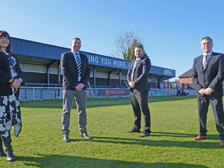 Spennymoor Town FC Board re-structure ushers in new commercial approach