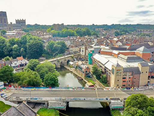 Durham City bridge on track for October reopening