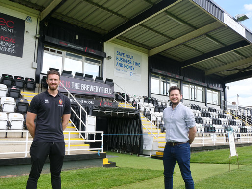 Durham OnAir To Broadcast Spennymoor Town FC Commentary in New Media Partnership