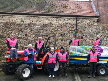 Selfless work of litter-picking and gardening volunteers to be celebrated