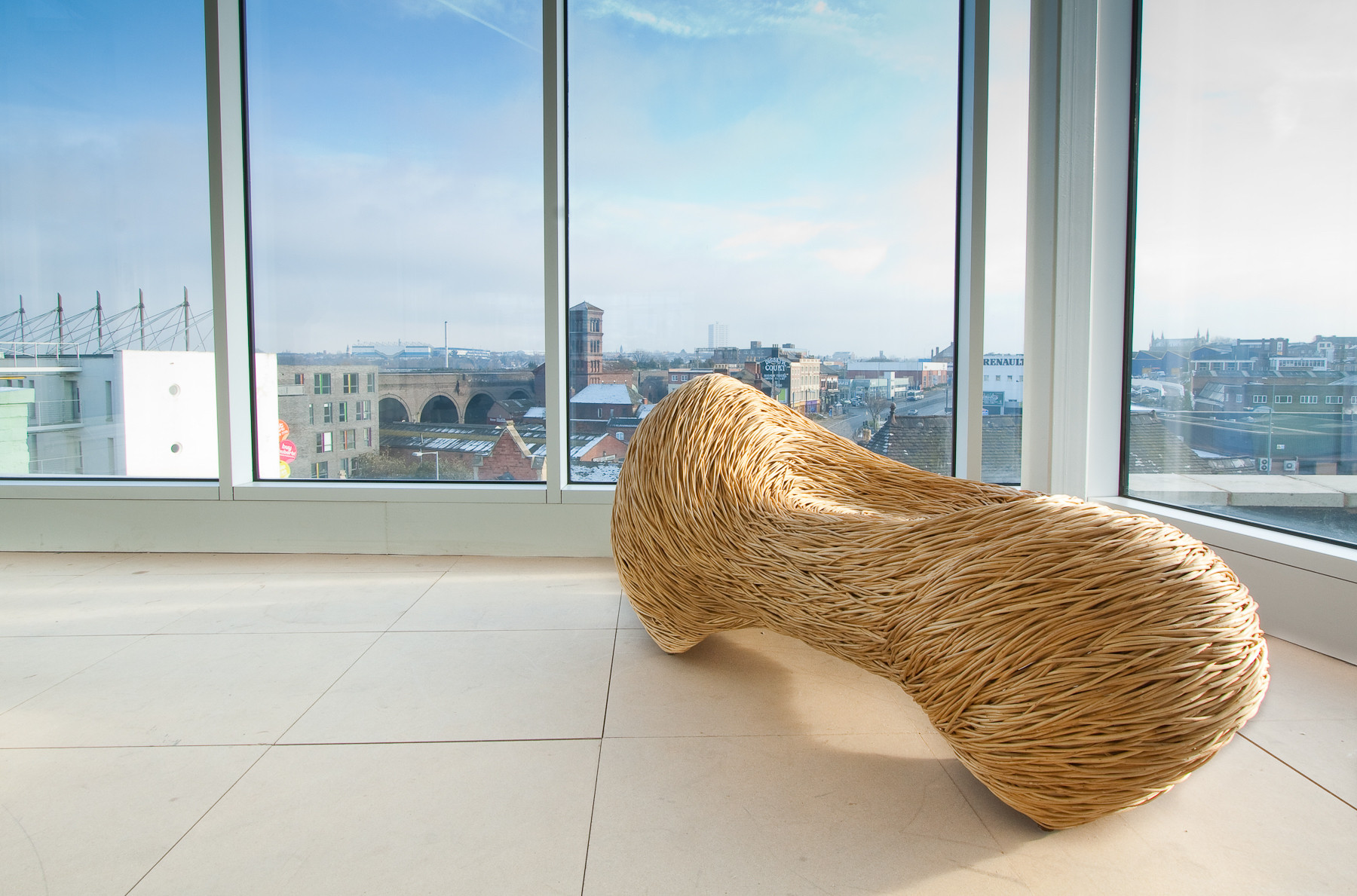 Norfolk Pebble1_ Sculptural Seat in Whit