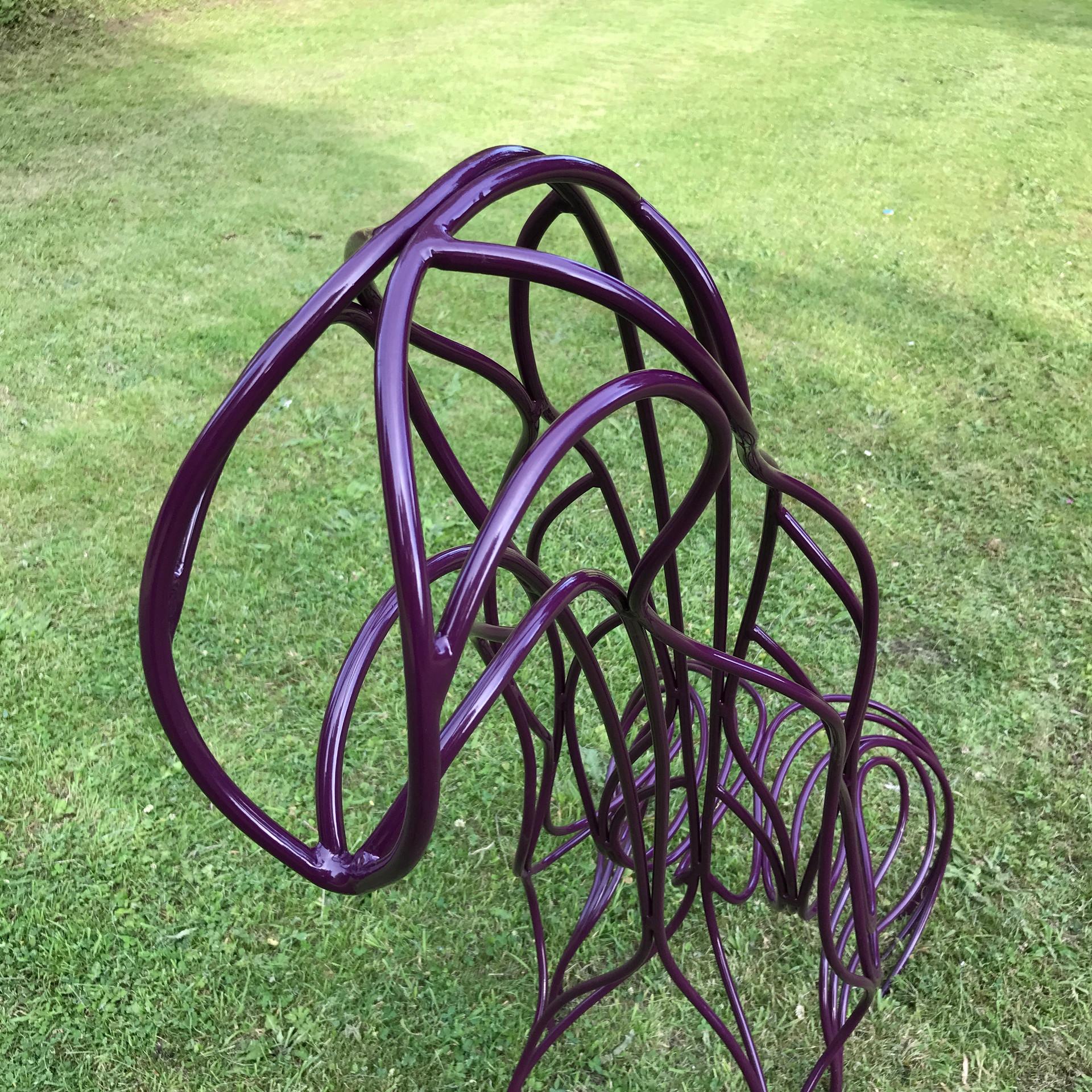 spencerjenkins_steel sculpture_steel fur