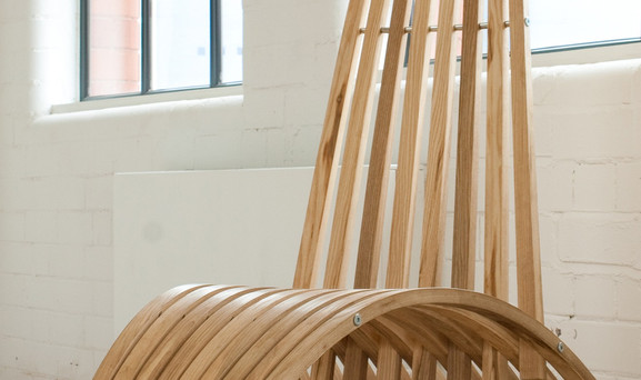 Bow Chair by Spencer Jenkins-Steamed Ash