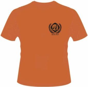 Camiseta laranja - BUSF