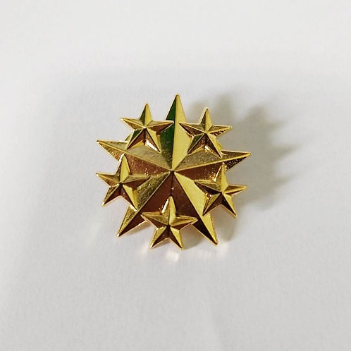 Estrela de Comando dourada