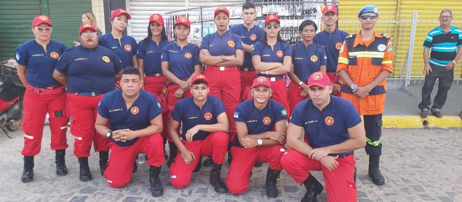 Coordenação da Brigada de Emergência da Festa do Padroeiro da Cidade de Itaquitinga-PE BUSF presente