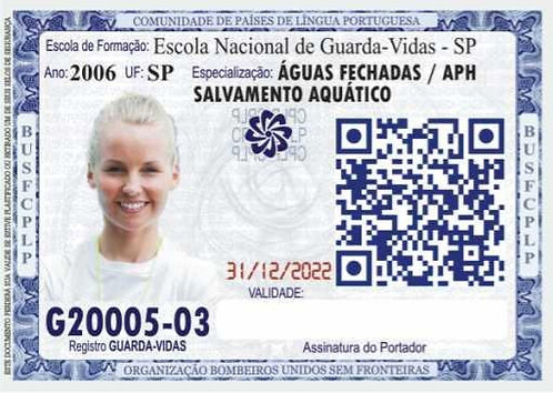 DOCUMENTO FUNCIONAL DE GUARDA-VIDAS