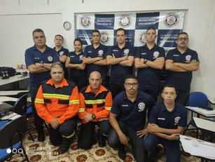 Membros da BUSF da RIE 03 de São Paulo Ministra Primeiros Socorros Para alunos GCM de Nova Odessa.