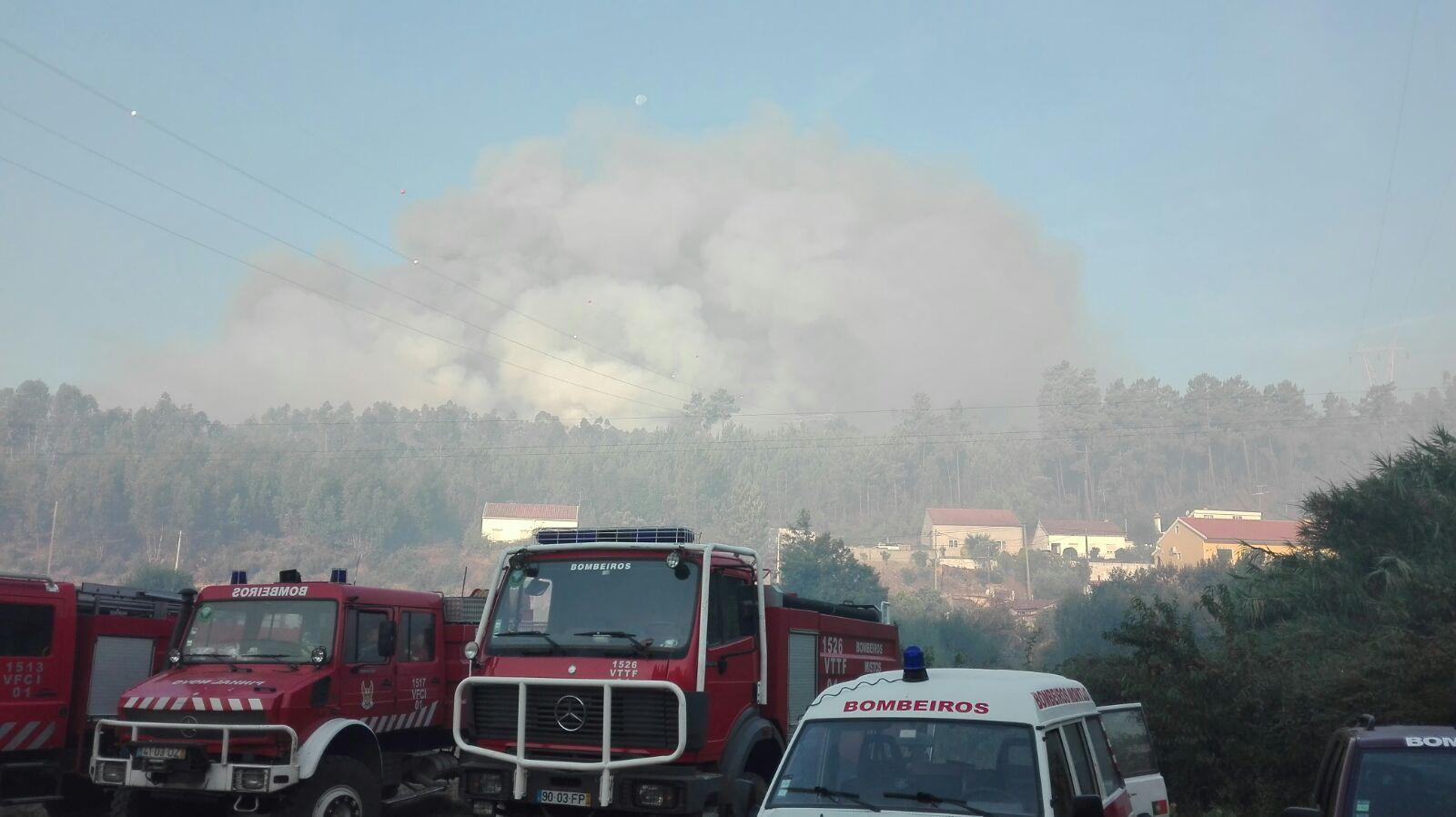 Incêndio em Abrantes - Portugal