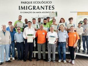 Parceria BUSF-Brasil e Parque Ecológico Imigrantes.