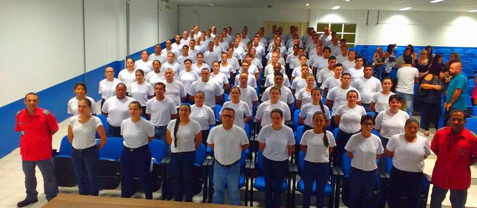 Subdelegado da BUSF-CPLP Alexandre Vieira Inicia as Atividades de Treinamento do Corpo de Bombeiros