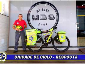 Bombeiros Voluntários de Balneário Camboriú Lançam Programa de Atendimento com Bicicletas na Cidade