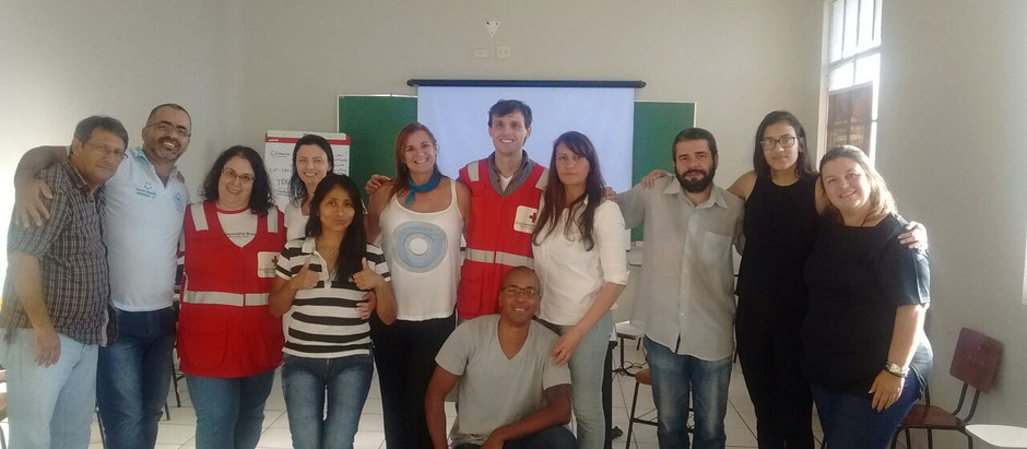 Parceria da BUSF-CPLP com a Cruz Vermelha Brasileira Possibilitou o Treinamento e Adequação Protocol