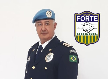 Delegado Regional Sr. João Barboza dos Santos assume o Comando da Força Tarefa da BUSF Brasil
