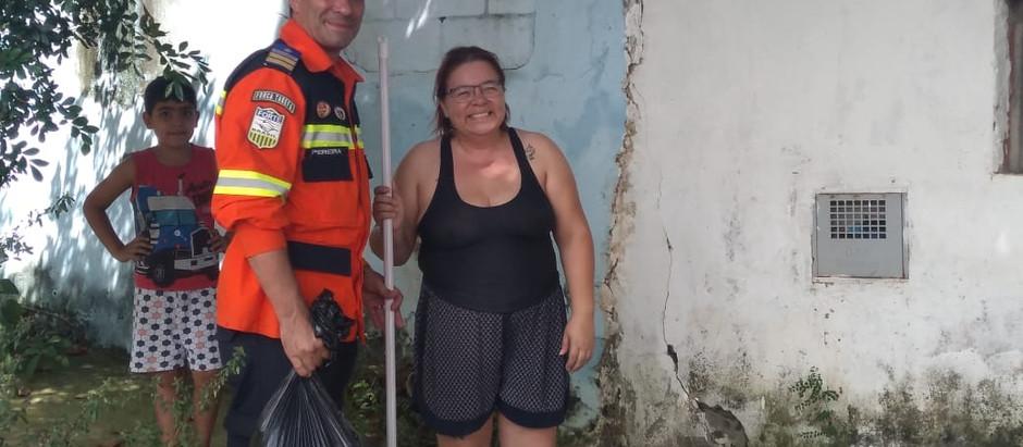 BUSF e Defesa Civil em Parceria para Distribuição de Kits Limpeza Pós Cheias na Região de Sumaré