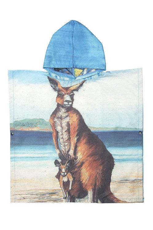 Kangaroo kids Poncho