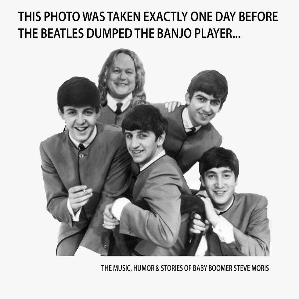 Beatles - Steve funny website Poster MAS