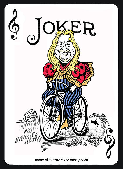 Joker Steve B&W and COLOR with website i