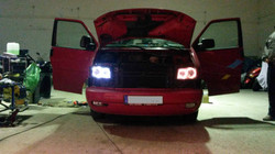 LED Angleeyes + normal Gulf T4 Custom