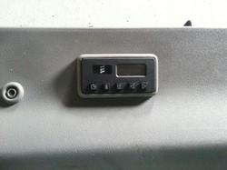 T4 Custom Mark Standheizungsuhr Fahrgastraum
