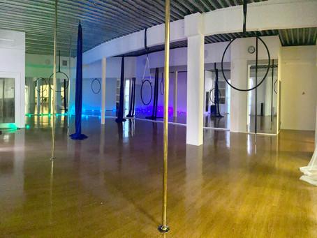 Nye treningsmuligheter hos Inspirals Pole & Aerial i Moss
