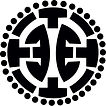 Simone Jensen Polewear logo Black white