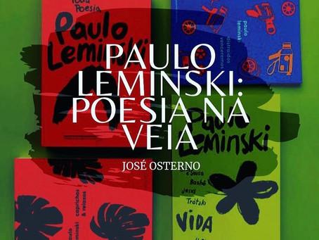 PAULO LEMINSKI: POESIA NA VEIA
