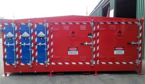 Multi Class Storage Locker