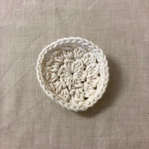 Crochet Organic Cotton Face Wipes