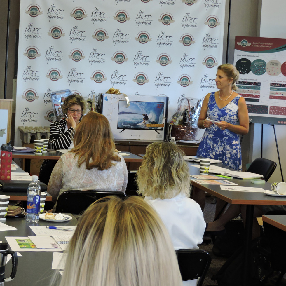 Speaking at the MRCC Women In Business Initiative meeting