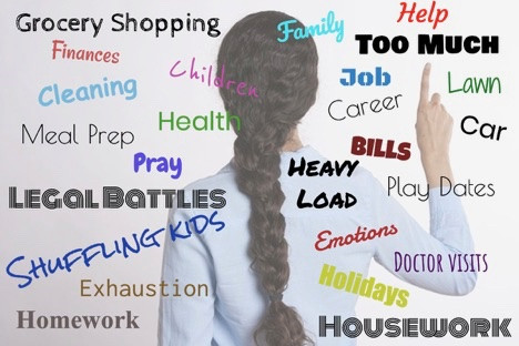 Overwhelmed Single Mom - Here are 3 Things You Can Do