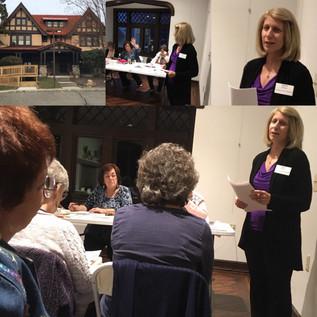 Women's Club Presentation