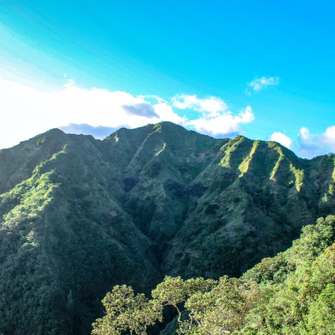 Scenic View of Hawaii