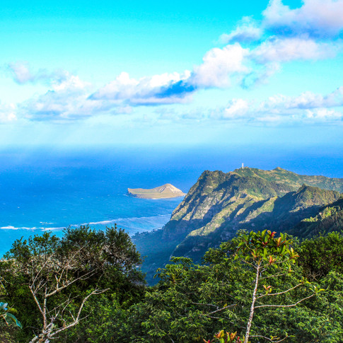 Scenic Hawaii View