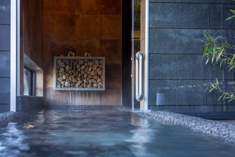 蘭鋳 露天風呂