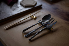 蘭鋳 ディナー用シルバー