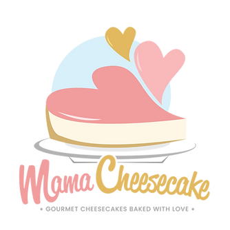 Mama Cheesecake Logo 2019_Baked with Lov