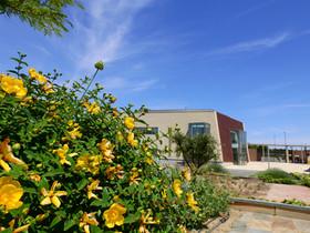 Edificio social del JBCLM