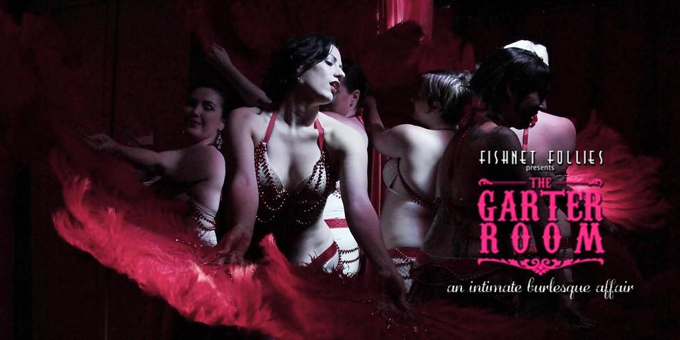 Fishnet Follies' Garter Room -- Global Hotties Show!
