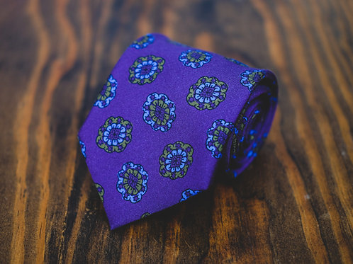 Violet Views Tie