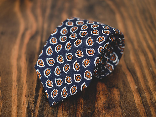 Gentry's Reserve Navy & Orange Tie