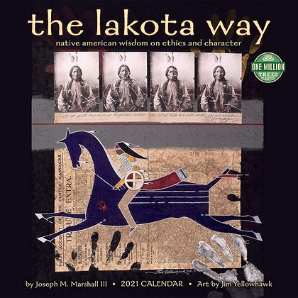 The Lakota Way 2021 Calendar & LYD Sticker
