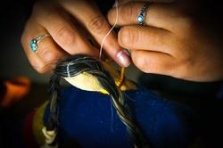 Traditional Lakota Doll Making