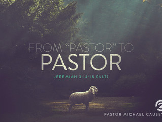 """From """"Pastor"""" to Pastor"""