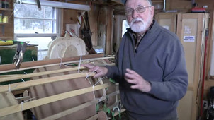 "Watch our video ""How to Build a Skin-on-Frame Double Paddle Canoe"""