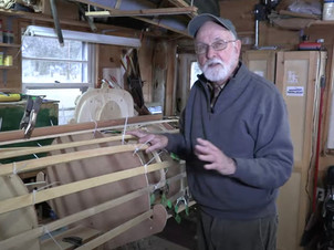 """Watch our video """"How to Build a Skin-on-Frame Double Paddle Canoe"""""""
