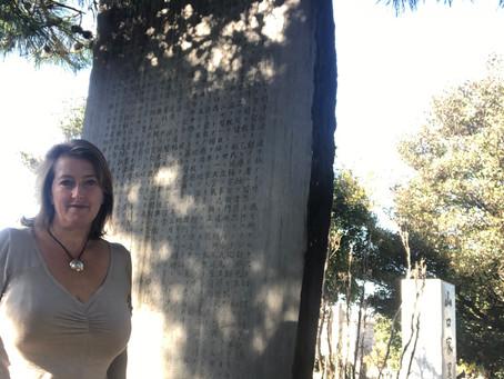 Usui's Memorial Stone