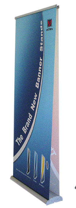 Double Roll Up Banners