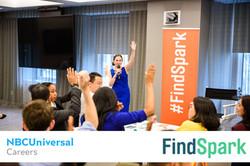 FindSpark NBCUniversal Recruitment Event Diversity Inclusion Event