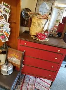 Red Shed Dresser